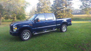 2008 Ford F-350 Blue Pickup Truck