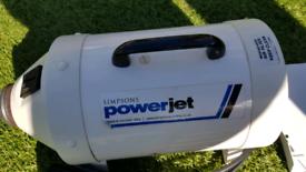 Simpsons Power Jet Dog Grooming Blaster Dryer