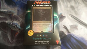 Magic the Gathering Commander Decks and Booster Boxes