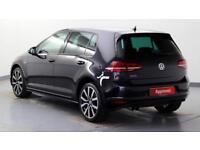 2015 Volkswagen Golf 1.4 TSI GTE PHEV 204PS DSG Petrol/PlugIn Elec Hybrid black