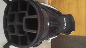 Like new never used Taylormade Cart Lite bag