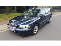 2002 Volvo V70 2.4 S 20v Petrol Estate Manual Blue 1 Previous Owner 2 Keys