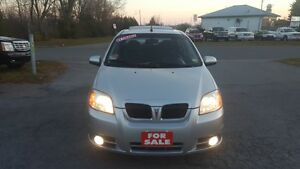 2010 Pontiac G3 Wave FULLY LOADED Sedan *** CERT *** $4995 Peterborough Peterborough Area image 2
