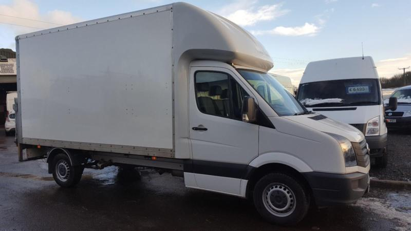 9492f3377a Volkswagen Crafter Luton box van with tail lift F.S.H