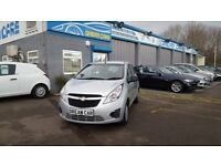 Chevrolet Spark 1.0 LS (silver) 2012