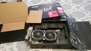RX580 8GB ARMORE MSI (AS NEW)