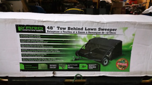 Leaf collector ,lawn sweeper