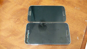 Two Samsung phones for parts