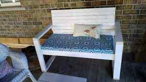 Hand Made Patio Bench Cambridge Kitchener Area image 1