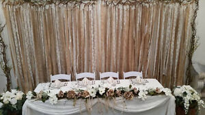 Wedding Decor Rentals, Chair Covers, Backdrops, Arches Etc. Prince George British Columbia image 3