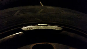 Winter Nordic Icetrac Tires P205/60 R15 Kitchener / Waterloo Kitchener Area image 9
