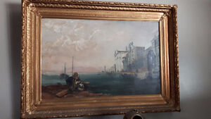Original Oil Painting By Myrtle Tuckett (Tucketts Tobacco Co).