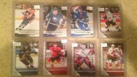 Hockey cards high end collection