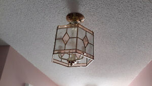 Gorgeous semi flush ceiling lights $150 FIRM