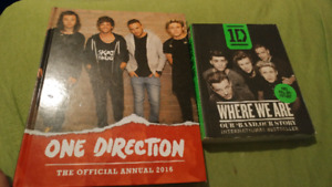 2 one direction books $15