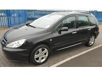 2003 Peugeot 307 SW 1.6 16v 5st dig a/c SE, Black, Estate