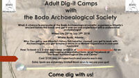 Archaeological Dig-it Camps: Dig with a real Archaeologist in AB
