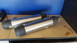 07 Harley Davidson night rod exhaust pipes