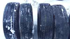 Set of 6    225/70 R19.5 Tires