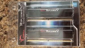 16GB Gskill Ripjaw V DDR4 RAM 3200mhz F4-3200C16D-16GVKB
