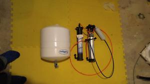 Reverse osmosis system.
