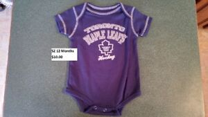 Hockey Team Onesie SZ 12 Months