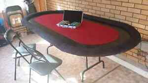 Large poker table