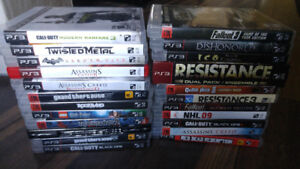 Playstation 3 Game Bundle