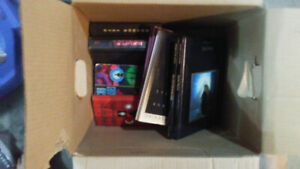 Box of books for sale