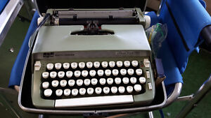 **SMITH CORONA-SUPER STERLING TYPEWRITER**