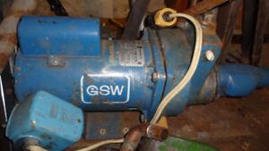 Lawn sprinkler pump