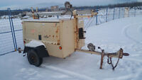 6kw Ingersoll-Rand Light Tower-15,000 hours Excellent condition