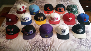 New Era Fitted and Snap back hats.