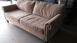 Sofa, 2 armchairs, ottoman - great condition