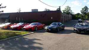 Exotic last car rentals $800 from Mon to Thurs.  Lambo or F430