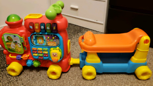 Vtech alphabet toy train