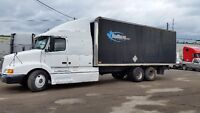 1999 Volvo  Expedite truck with 26' Box