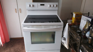 """FOR SALE - FRIGIDAIRE ELECTRIC GLASS TOP 30"""" STOVE"""