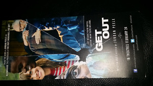 Get out movie pass for 2 people $5