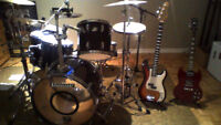 Private Music Lessons (Drums, Guitar, Bass)