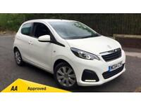 2014 Peugeot 108 Hatchback 1.0 Active 5dr Manual Petrol Hatchback