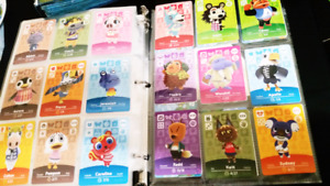 Looking to trade Animal Crossing Amiibo Cards!