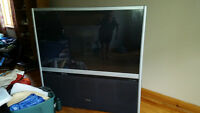 "60"" rear projection tv. free!!"