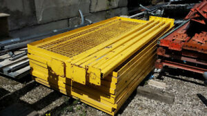 Industrial Yellow Safety Cage