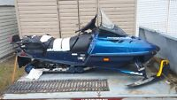 WANTED 97 /98 grand touring skidoo chassi with ownership