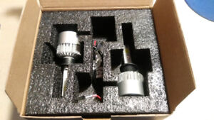 LED Conversion Headlights H1 6500K 8000lm Pure White Color - $25