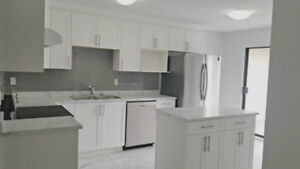 Fully Renovated Upstairs for rent 3 bedrooms and Rec Room