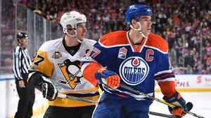 Pittsburgh Penguins vs Edmonton Oilers Crosby  McDavid