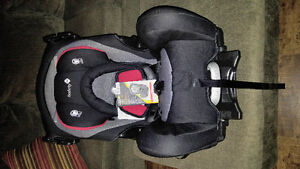 Brand new 3 in q car seat