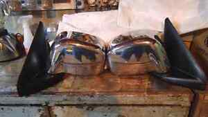 Pair of power heated side mirrors for any  02-08 Dodge Ram